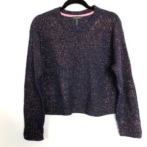 Rag & Bone sparkly sweater with buttons nwot